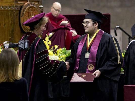 MSU Spring 2017 Commencement