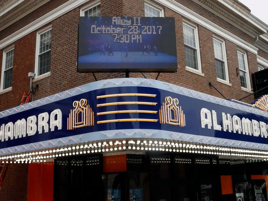 The Alhambra Theatre that the CJ photo staff called home while they worked in Hopkinsville. 
