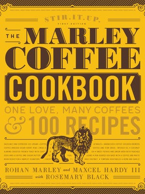 The Marley Coffee Cookbook is co-authored by Maxcel Hardy of Detroit