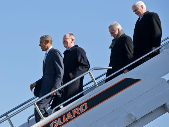 President Obama, followed by Sen. Lamar Alexander,