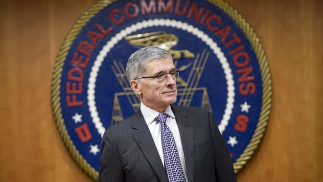 Federal Communication Commission Chairman Tom Wheeler waits for a hearing at the FCC on Dec. 11, 2014, in Washington, D.C.