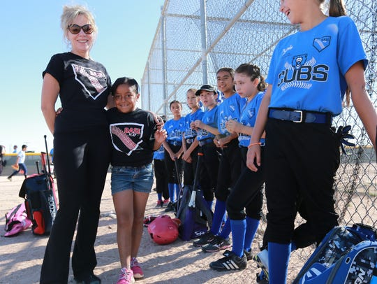 Kristi Borden of the El Paso Border Youth Athletic