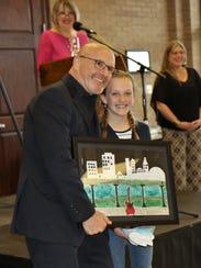 Miriam Putt, a sixth grader at Faith Tutorial, shown