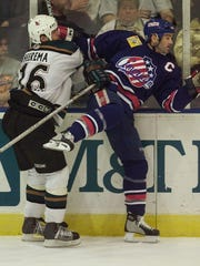 Chris Taylor was captain of the Amerks record 112-point