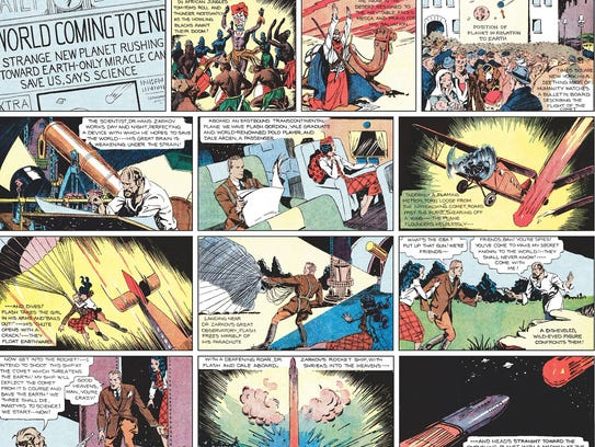 first_strip_FLASH-GORDON-NUMBER-ONE-COMICS-jy-3838-