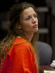 Haylee Cheek listens to Judge G. Michael Westfall during a court session Nov. 23, 2010 in Cedar City.