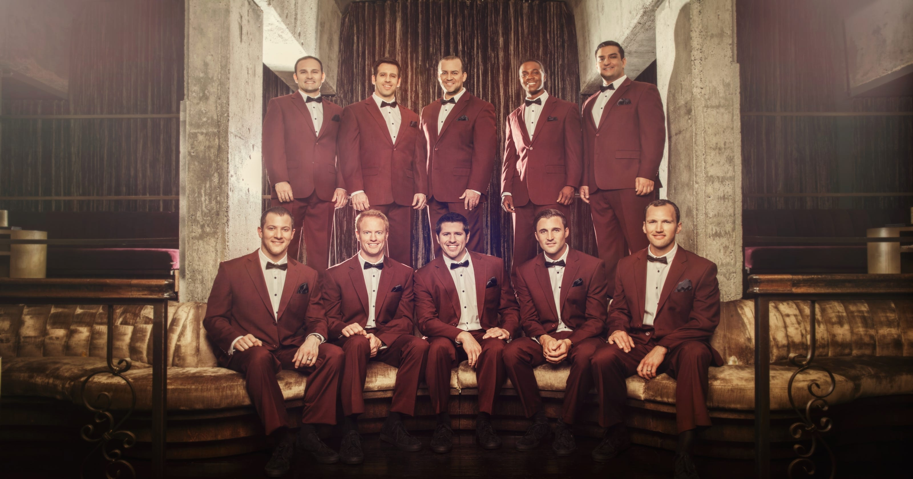 Straight No Chaser shares passion for a cappella