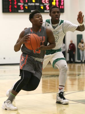 Mansfield Senior's DaQuan Hilory scored 18 of his game-high 24 points in the fourth quarter to beat Sandusky on Tuesday night