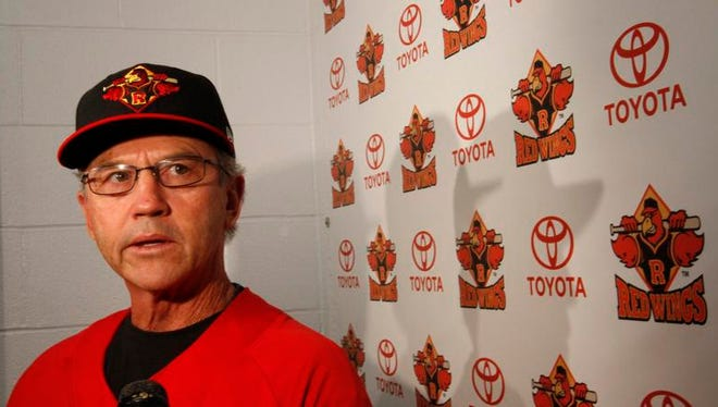 A file photo of Rochester Red Wings manager Gene Glynn.