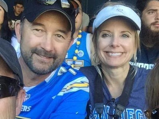 John and Suzanne Speed, of Oxnard, have been San Diego Chargers season ticket holders for more than 20 years.