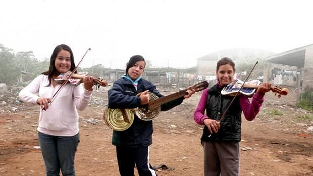"""Landfill Harmonic"" is a documentary about a Parauayan musical group that plays instruments made of trash."