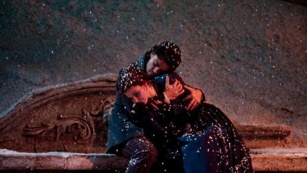 """Operas don't come more beautiful, melodic or tragic than Giacomo Puccini's masterpiece """"La Boheme."""" Catch The Metropolitian Opera's latest production of the doomed love story during a live broadcast from Manhattan at 12:30 p.m. Saturday at The Movies at Governor's Square. It's subtitled and runs three hours and 20 minutes. Tickets are $25.80, $23.65 and $19.35. Visit www.fandango.com."""
