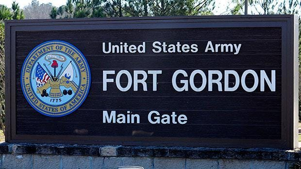 File photo of Fort Gordon in Augusta, GA.