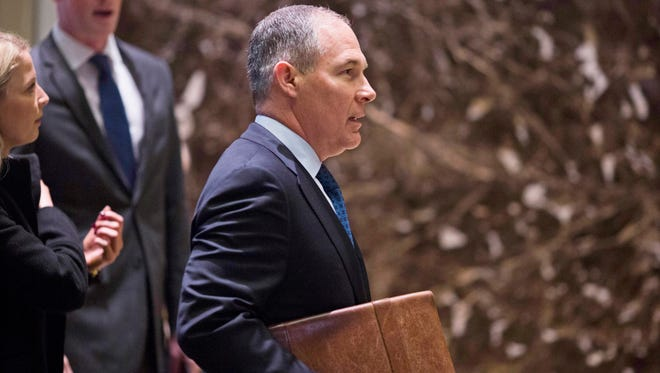 Oklahoma Attorney General Scott Pruitt is the president-elect's pick to head the Environmental Protection Agency.