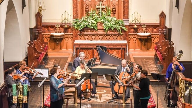 The Tallahassee Bach Parley in performance.