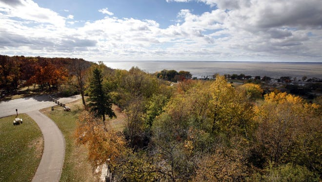 High Cliff State Park in Sherwood. Gov. Scott Walker's proposed budget would eliminate the rule- and policy-making powers of the state Natural Resources Board.