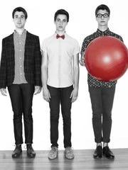 AJR is (from left) Jack, Adam and Ryan Met.