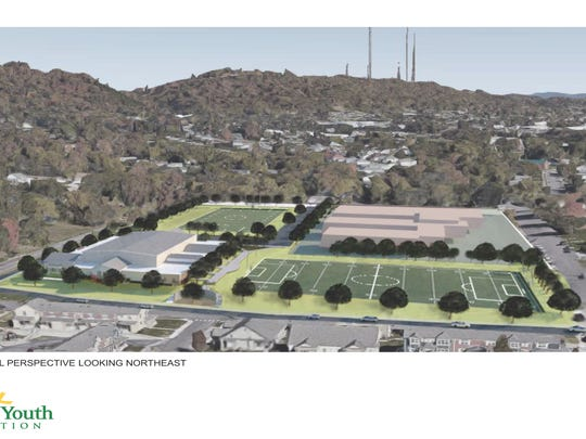 Artist rendering of the Lonsdale Ministry Complex