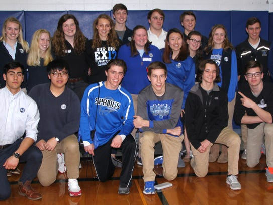 Twenty-one St. Mary's Springs' students participated