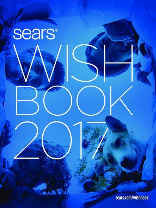 Sears Roebuck and Co Wish Book Front Cover