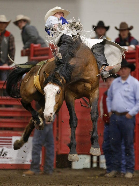 Champions Crowned At College Finals Rodeo