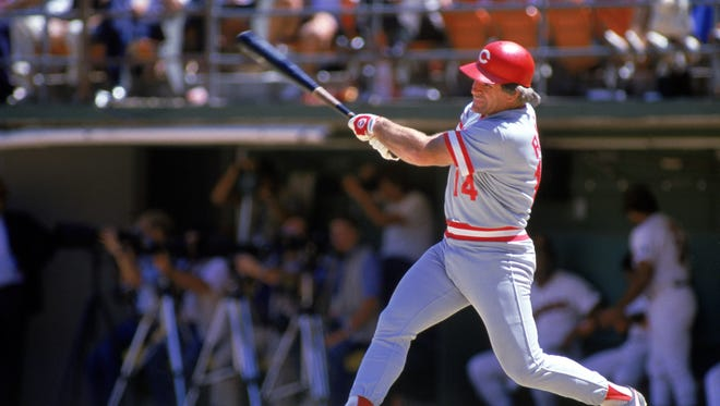 Pete Rose is the all-time hit king.