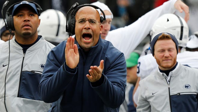 James Franklin led Penn State to a 9-4 season in 2018, including a Citrus Bowl loss to Kentucky. The Nittany Lions are 31-9 over the last three seasons.