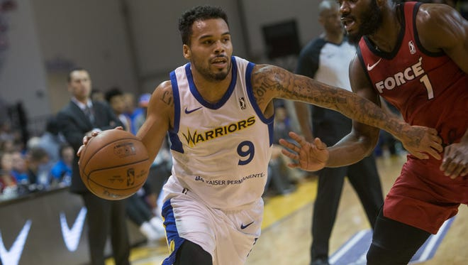 Former North Salem standout Avry Holmes now competes for the Santa Cruz Warriors in the NBA G-League.