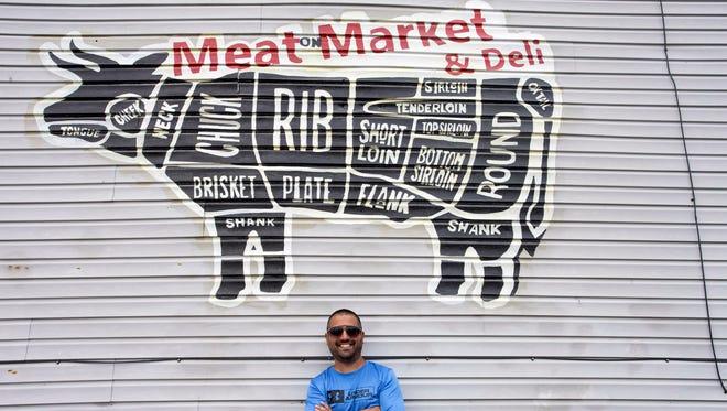 Carlos Galan is the owner of Galan's Meat Market & Deli on West Market Street. 6/27/18