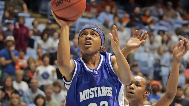Smoky Mountain alum Cetera DeGraffenreid is the all-time leading scorer in Western North Carolina girls basketball.