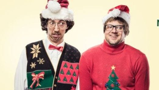 It's National Ugly Christmas Sweater Day.