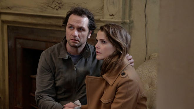 Tensions flare between Matthew Rhys and Keri Russell on FX's 'The Americans.'