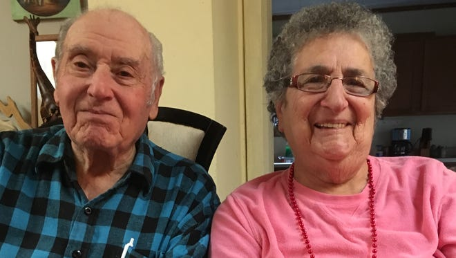 Otto and Mary Hintz recently celebrated their 60th anniversary.