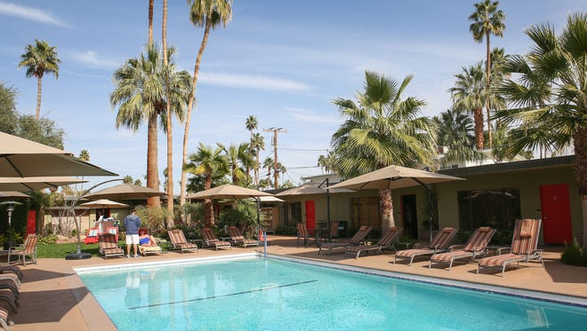 The Desert Riviera Hotel in Palm Springs.