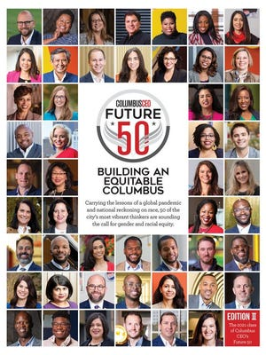 The cover of Columbus CEO's special Future 50 issue