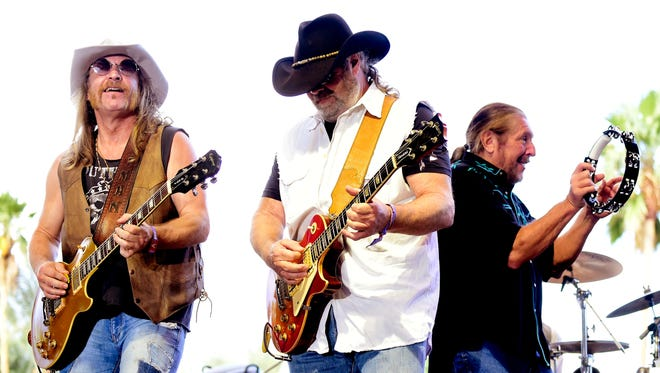The Marshall Tucker Band, including members Chris Hicks, Rick Willis and Doug Gray, will help kick off the 2017 Las Cruces Country Music Festival.
