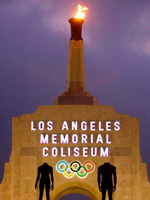 The Coliseum hosted track and field and the opening and closing ceremonies during the 1984 Olympics in Los Angeles.