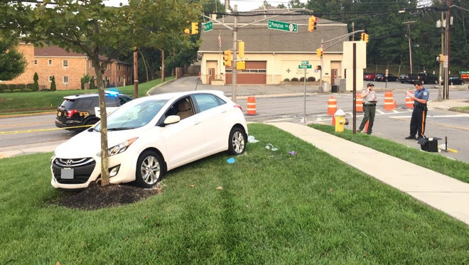 Police resuscitated a 73-year-old Verona man at the scene of this crash on Tuesday, Aug. 15, 2017.