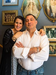 Lisa DiFebo and Jeff Osias, owners of DiFebo's in Bethany