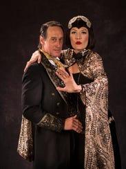 J. Todd Adams plays Theseus and Melinda Parrett plays
