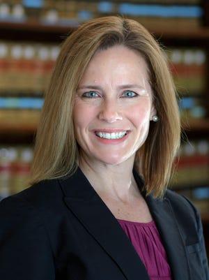 Federal appeals court Judge Amy Coney Barrett