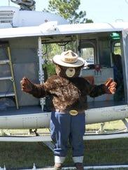 Smokey Bear will make an appearance at this year's