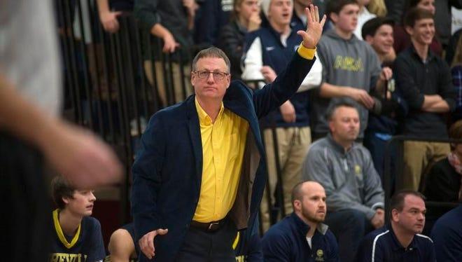 Asheville Christian Academy boys basketball coach Andy Ray.