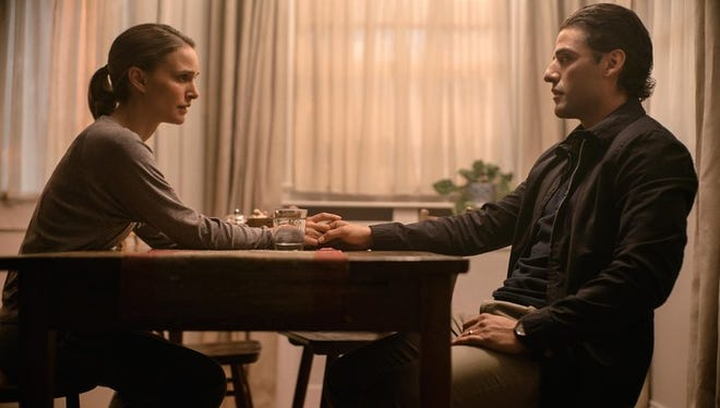 """Natalie Portman and Oscar Isaac play a husband and wife who are separated by the mysterious Area X in """"Annihilation."""""""