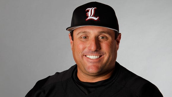 New IU baseball coach Chris Lemonis, pictured here during his time at Louisville, has been granted a five-year contract, as he tries to replicate the national success of his predecessor, Tracy Smith.