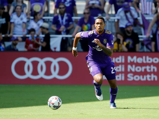 Orlando City's Tommy Redding is one of nine players