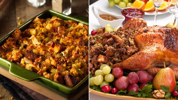 Let the annual debate over whether it's stuffing or dressing begin.