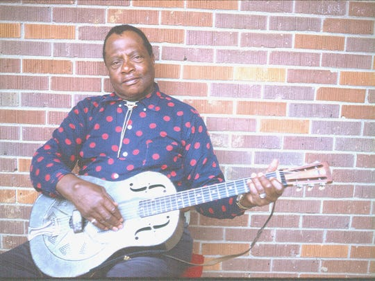 Bukka White is one of the artists featured in the new