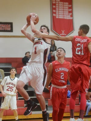 The NJIC might debut its own league boys basketball tournament, giving Josh Frissora (1) and teams such as Glen Rock the choice of competing in a league or county tournament.