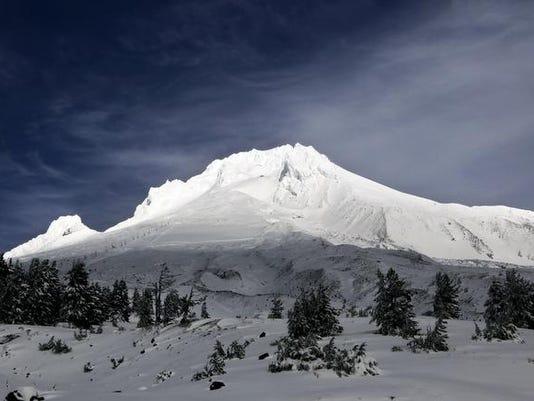 Fallen Climber Mount Hood